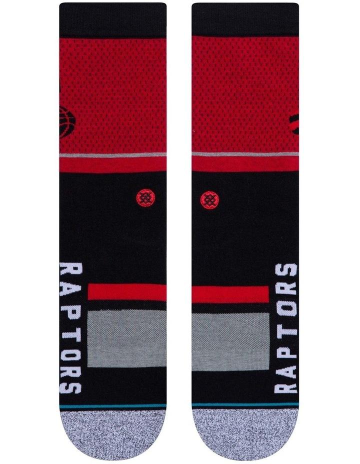 NBA Raptors Sock image 2