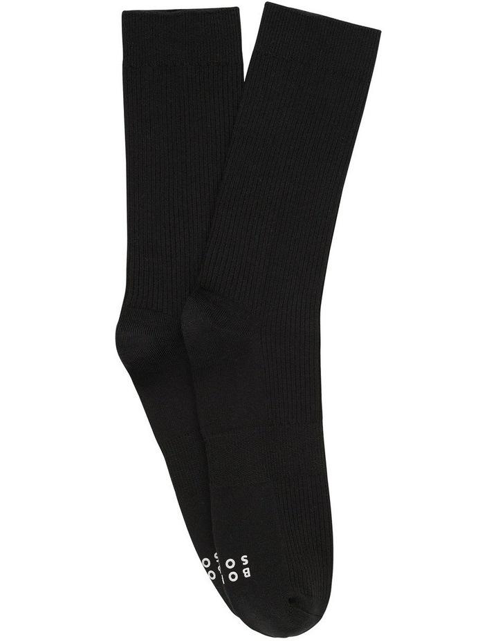 2 Pack Originals Rib Plain Socks image 1