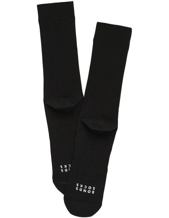2 Pack Originals Rib Plain Socks image 2