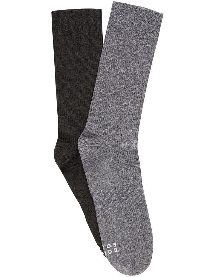 2 Pack Originals Rib Marle Socks image 1