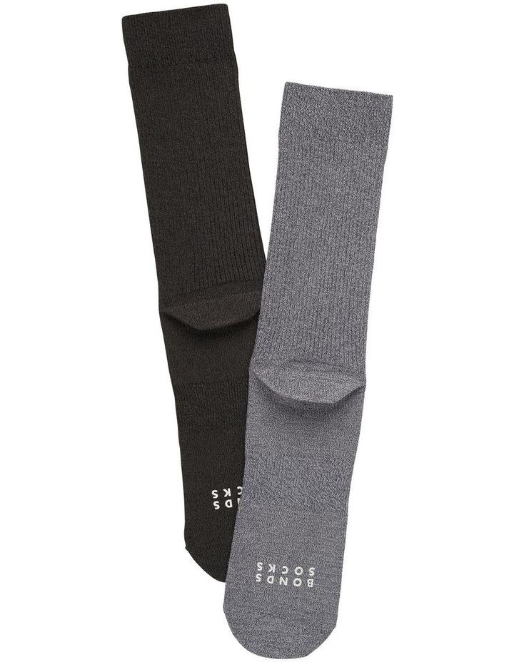 2 Pack Originals Rib Marle Socks image 2