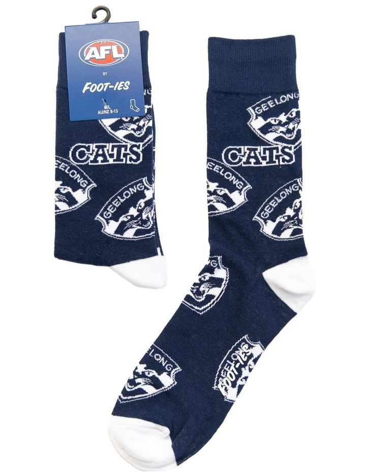 AFL Geelong Large Logos Sock image 1