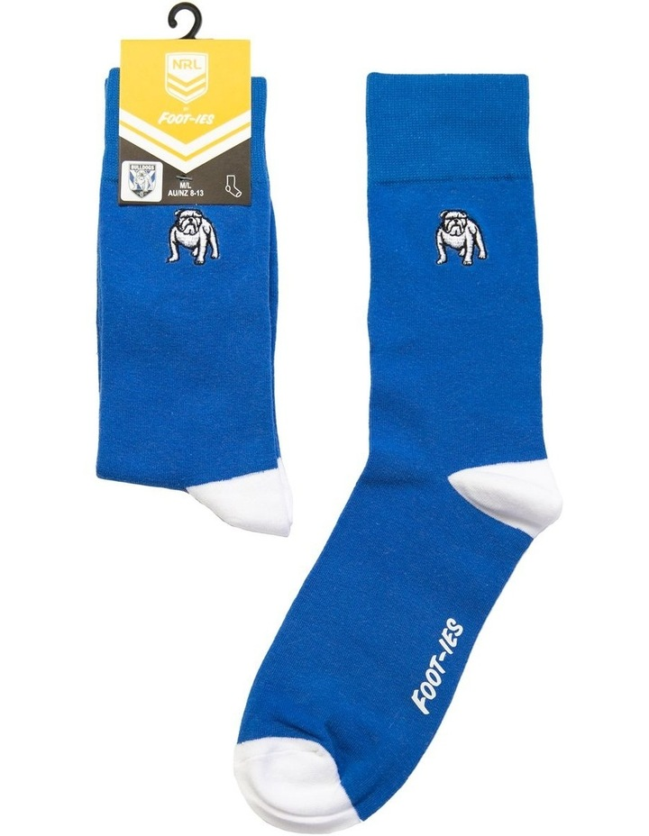 NRL Canterbury Small Embroidery Sock image 1