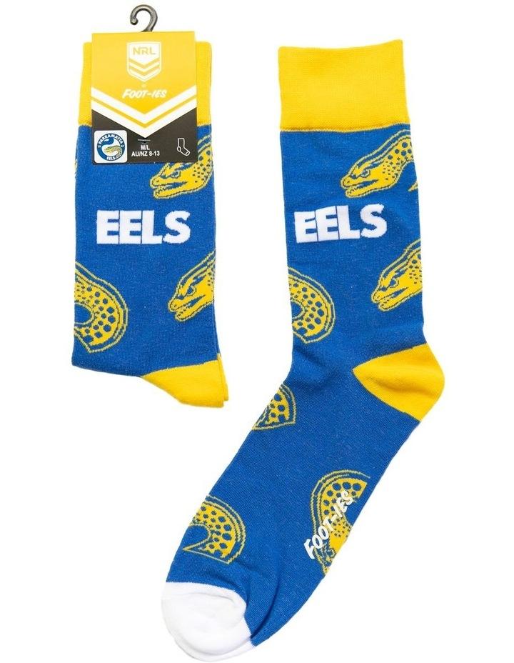 NRL Parramatta Large Logos Sock image 1