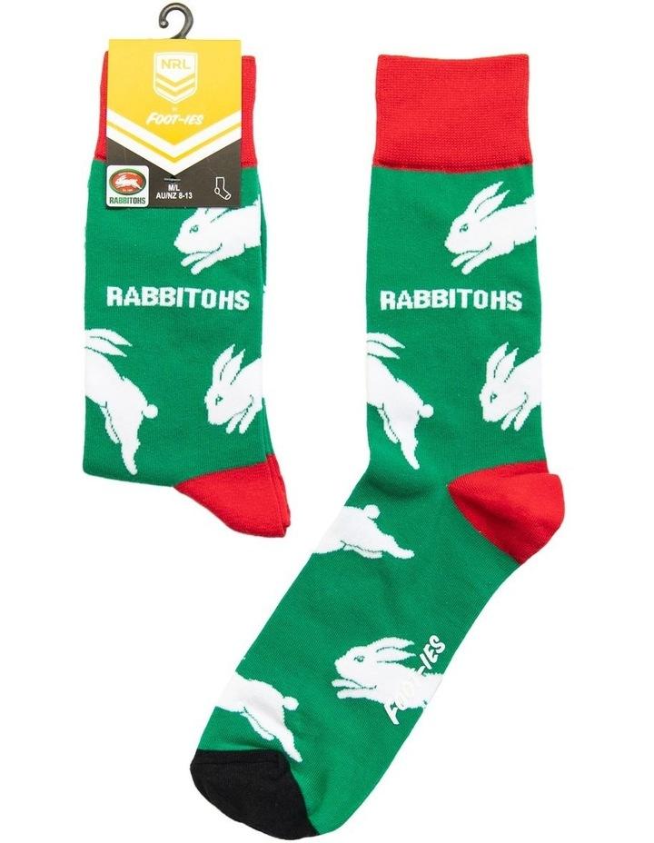 NRL South Sydney Large Logos Sock image 1