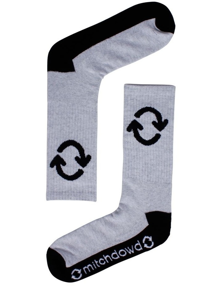 Eco Re-Cycle Sports Crew Sock image 1