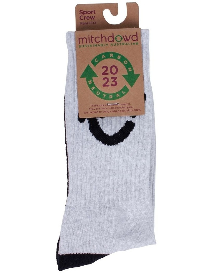 Eco Re-Cycle Sports Crew Sock image 2