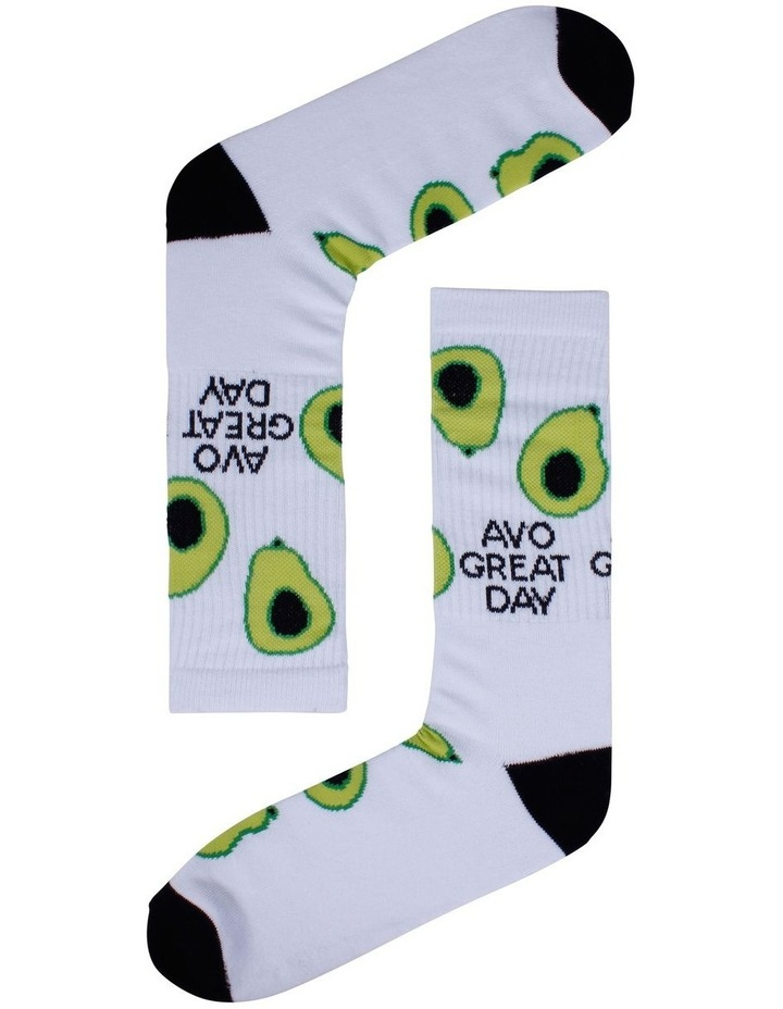 Avo Great Day Sports Crew Sock image 1