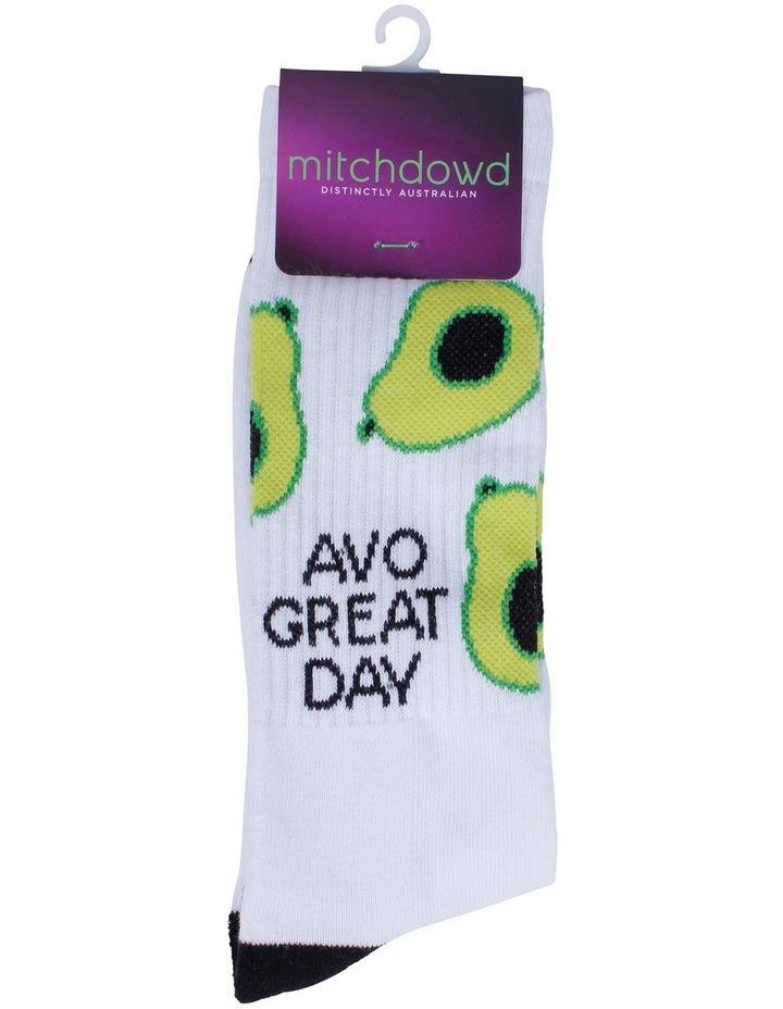Avo Great Day Sports Crew Sock image 2
