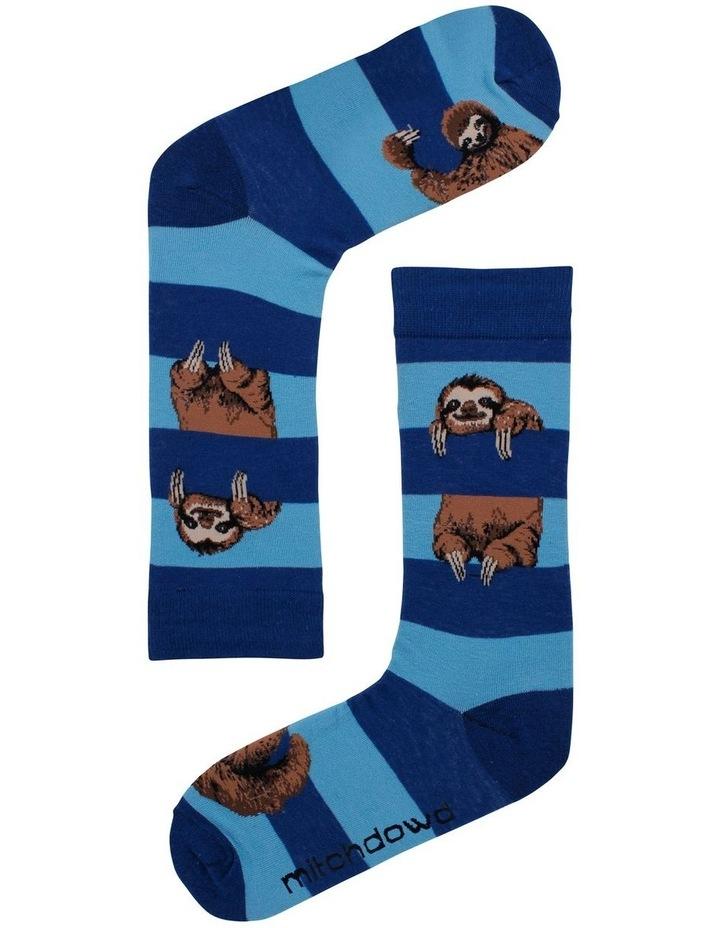Sloth Stripe Sock image 1
