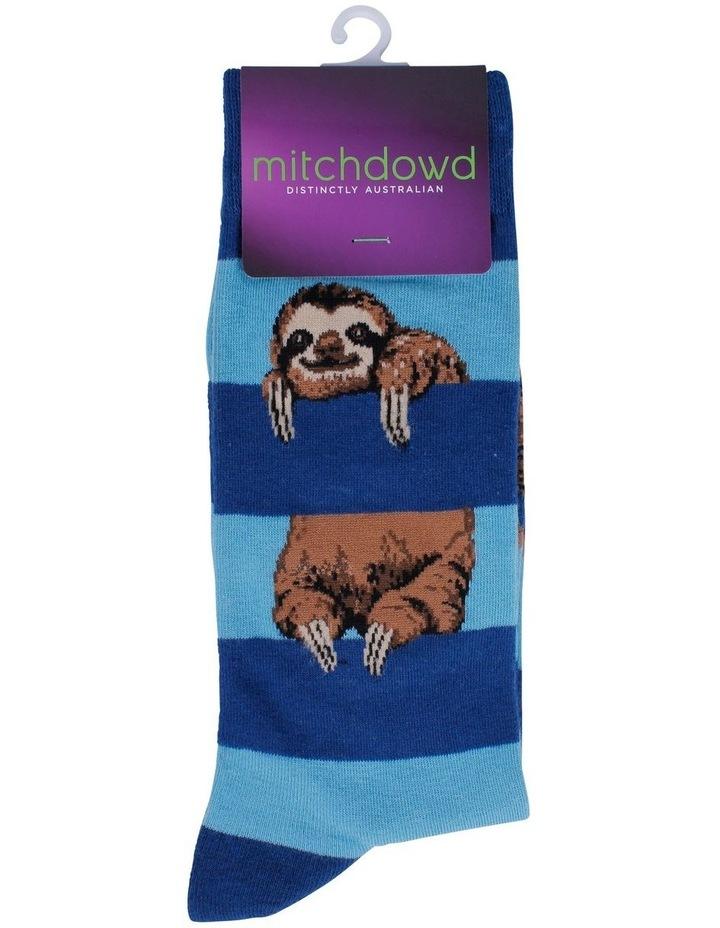 Sloth Stripe Sock image 2