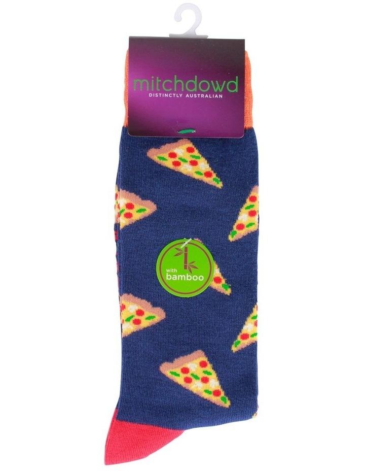 Pizza Bamboo Socks image 2