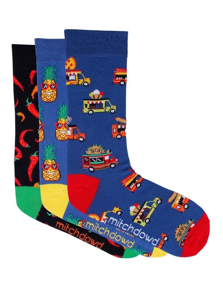 3 Pack Fiesta Time Socks image 1