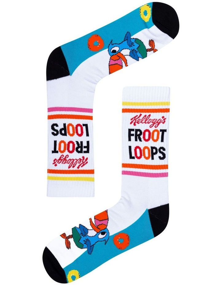 2 Pack Fruit Loops Crew Socks image 2