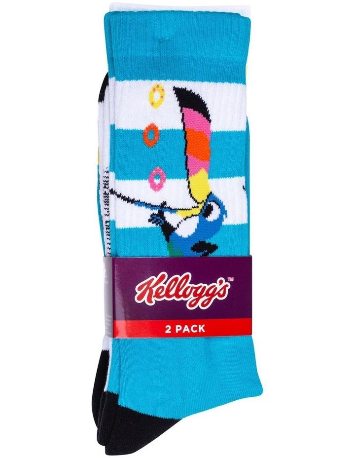 2 Pack Fruit Loops Crew Socks image 4
