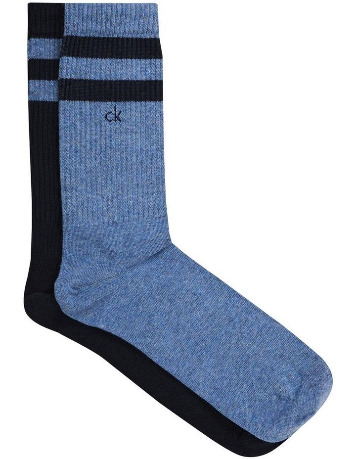 2 Pack Casual Crew Socks image 1