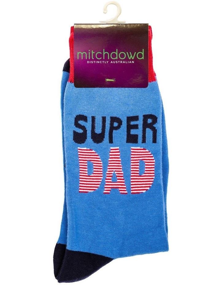 Super Dad Socks image 2