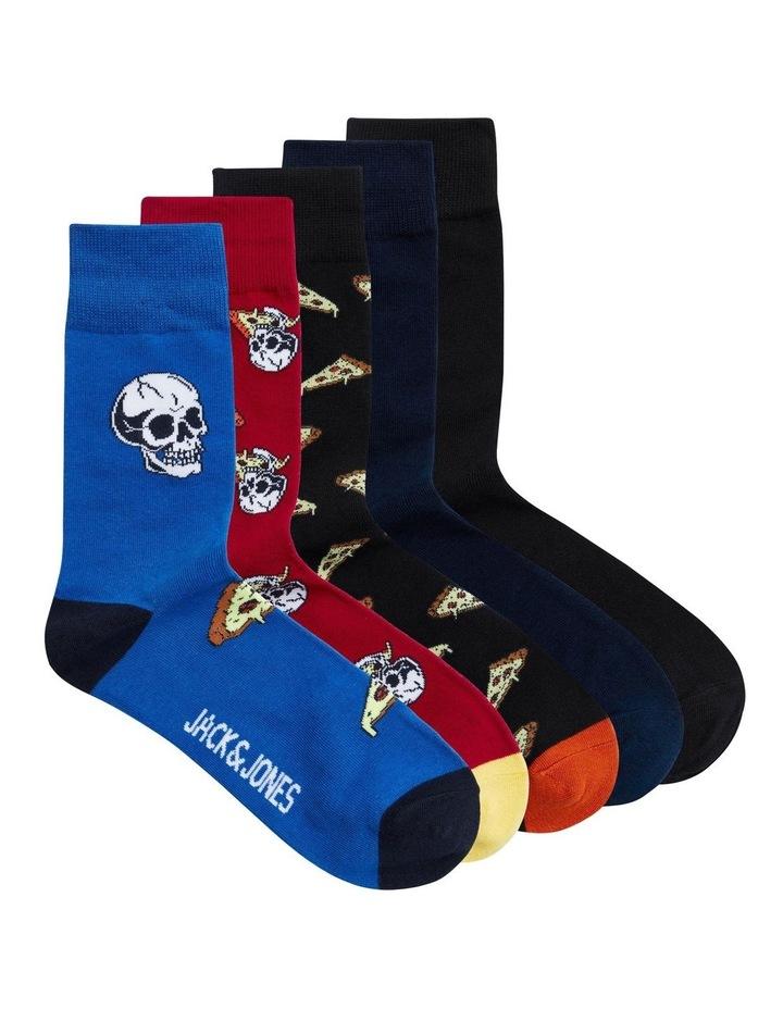 5 Pack Slice Fashion Socks image 1