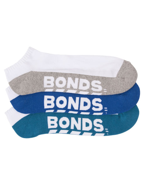 Logo Low Cut 3 Pack Socks image 3