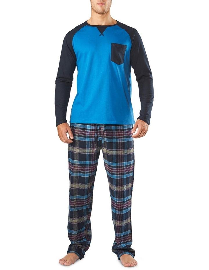 Long Sleeve Raglan Sleep Tee image 1