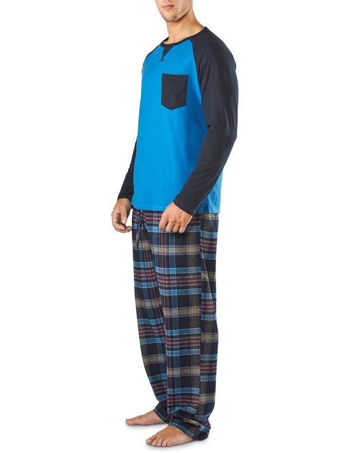 Long Sleeve Raglan Sleep Tee image 2