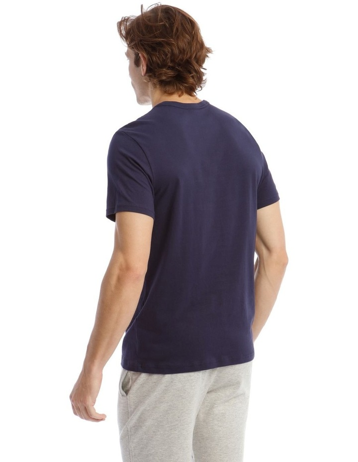 Statement Graphic Sleep Top in Blue image 2