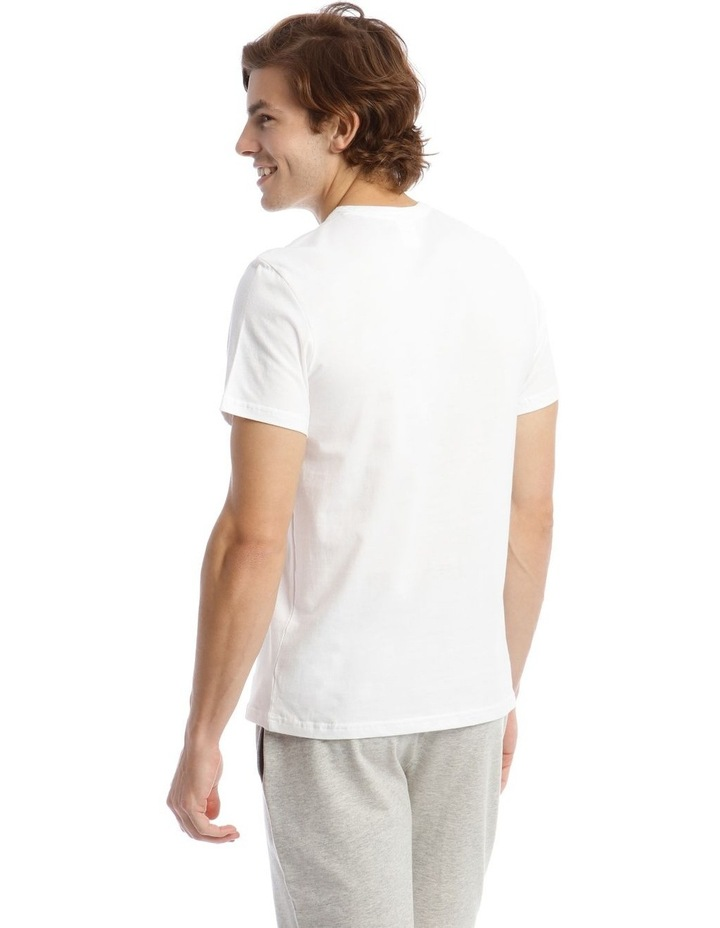 Statement Graphic Sleep Top in White image 2