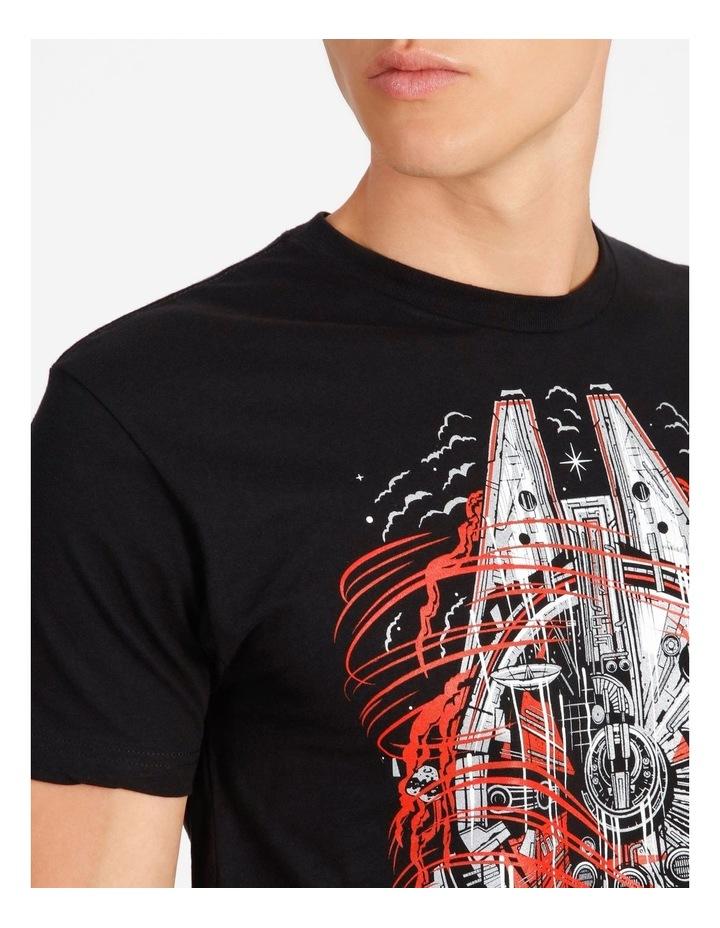 Millennium Falcon T-Shirt By Travis Price image 4