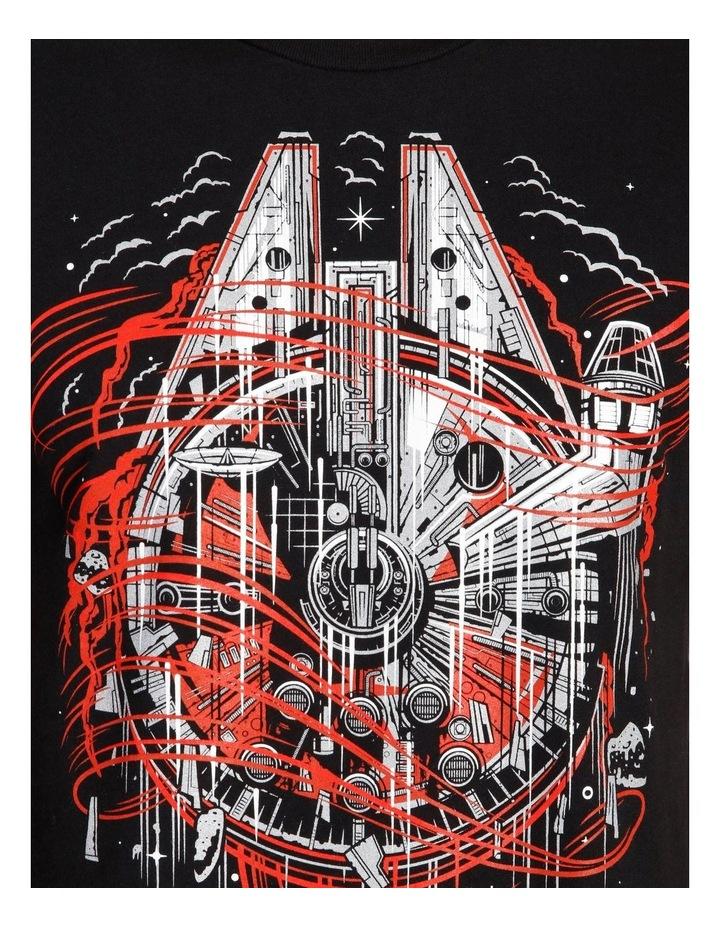 Millennium Falcon T-Shirt By Travis Price image 5