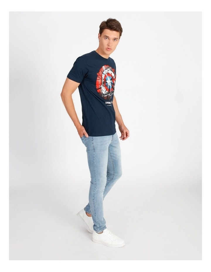 Captain America T-Shirt By Travis Price image 2
