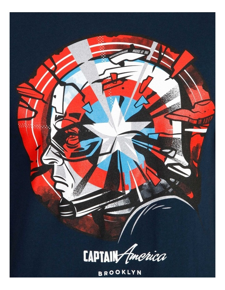 Captain America T-Shirt By Travis Price image 5