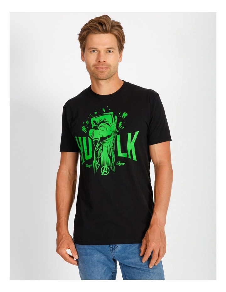Marvel Hulk Always Angry T-Shirt By Travis Price image 1