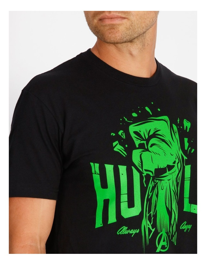 Marvel Hulk Always Angry T-Shirt By Travis Price image 4