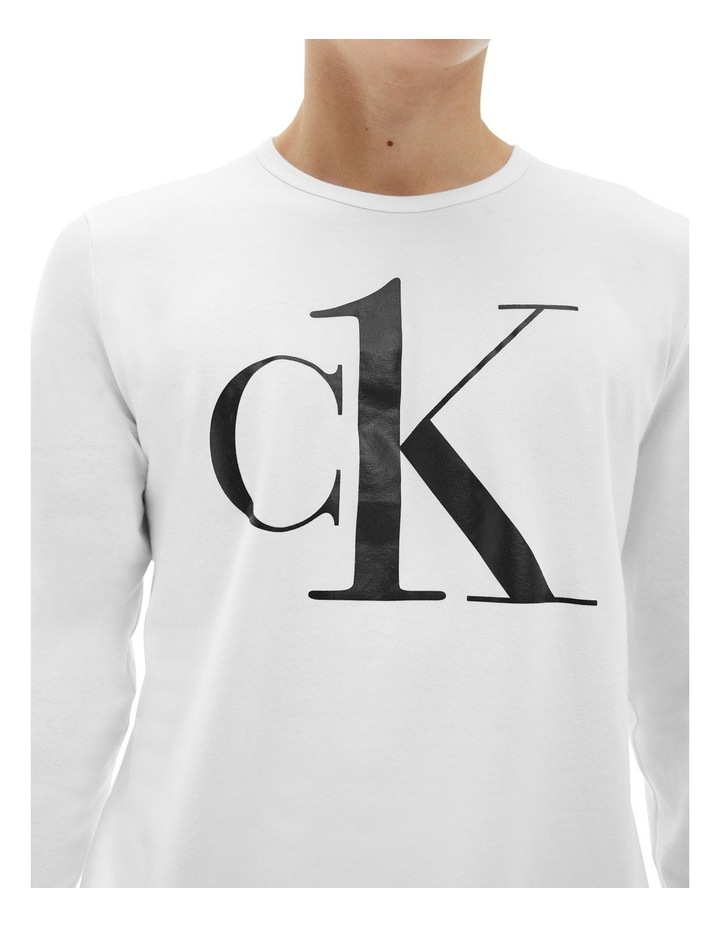 Ck One Long Sleeve Sleep Tee image 2