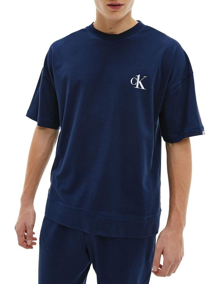 Ck One Short Sleeve Sleep Tee image 1
