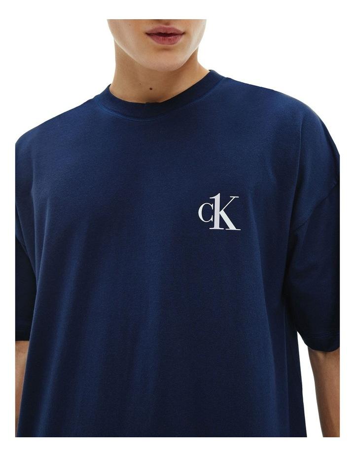 Ck One Short Sleeve Sleep Tee image 5