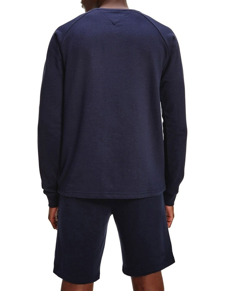 Embroidered Lounge Sweat Top image 2