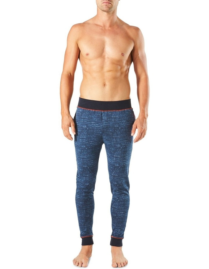 Slim Leg Space Dye Knit Sleep Pant image 1