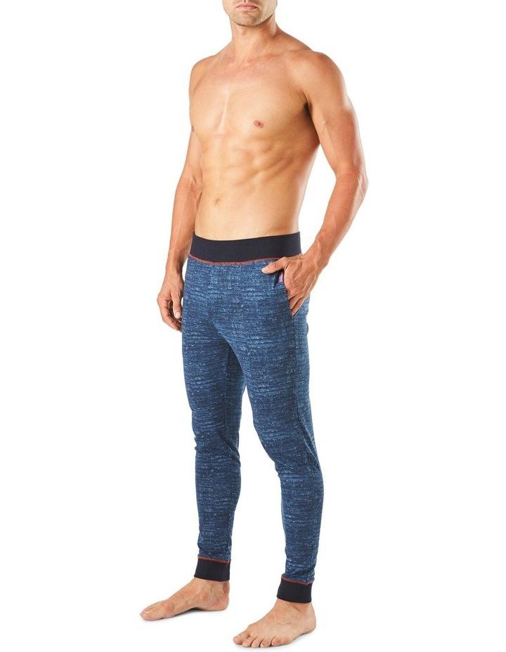 Slim Leg Space Dye Knit Sleep Pant image 2