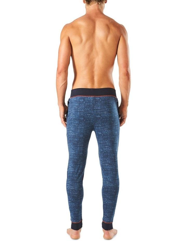 Slim Leg Space Dye Knit Sleep Pant image 3