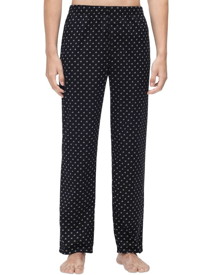 All Over Mini Print Woven Pant image 1