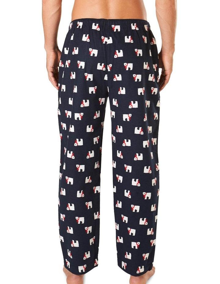 Cosy Bears Printed Flannel Sleep pant image 3