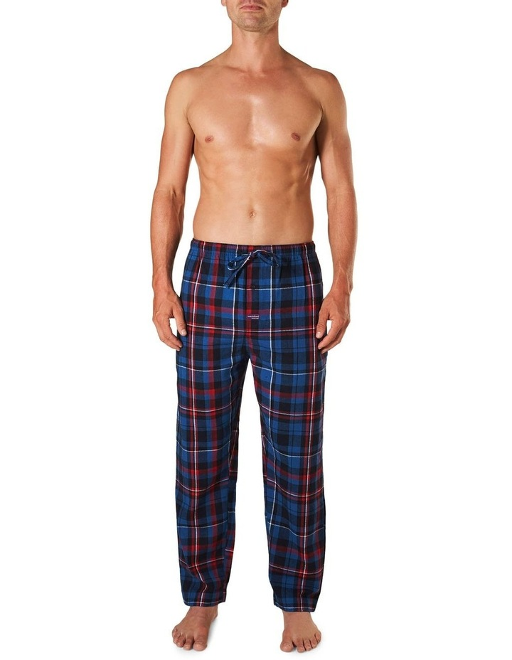 Aiden Check Yarn Dyed Flannel Sleep Pant image 1