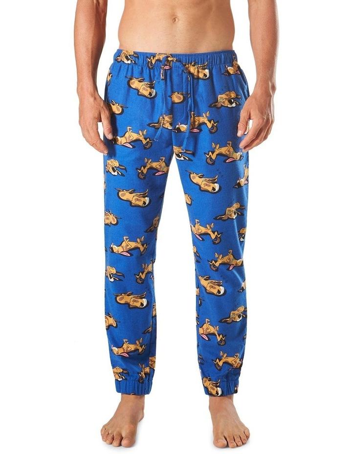 Sleeping Dogs Slim Leg Flannel Sleep Pant image 1
