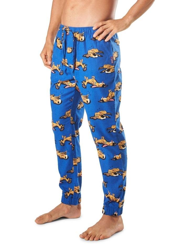 Sleeping Dogs Slim Leg Flannel Sleep Pant image 2