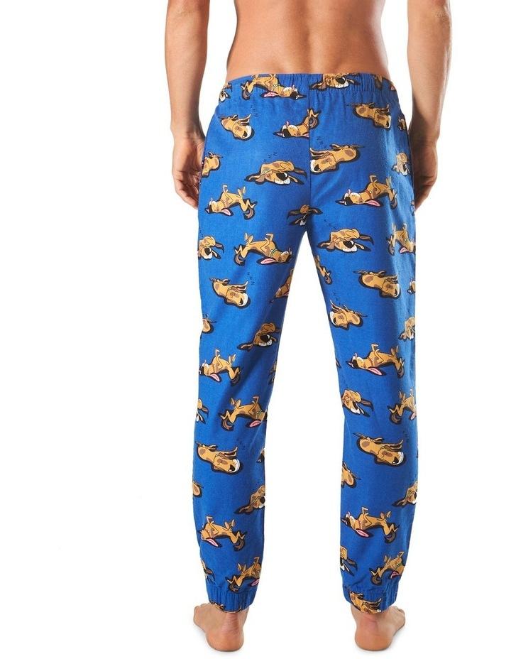 Sleeping Dogs Slim Leg Flannel Sleep Pant image 3