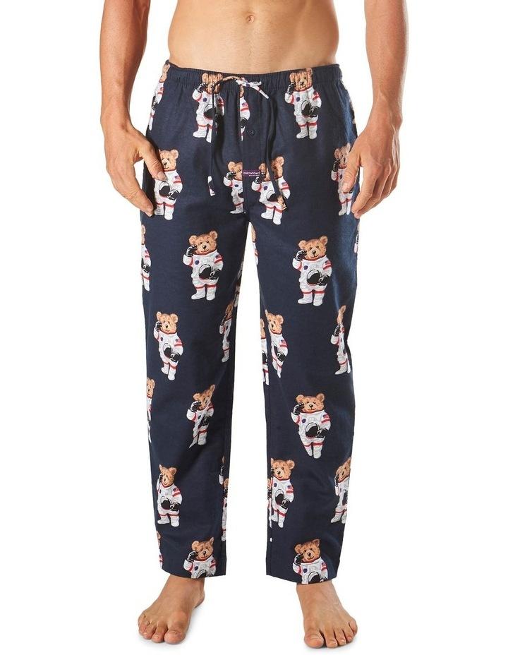 Astro Bears Flannel Sleep Pant image 1