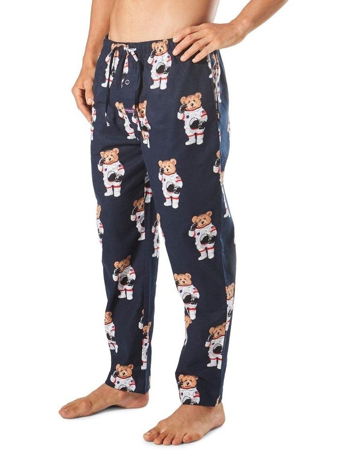 Astro Bears Flannel Sleep Pant image 2