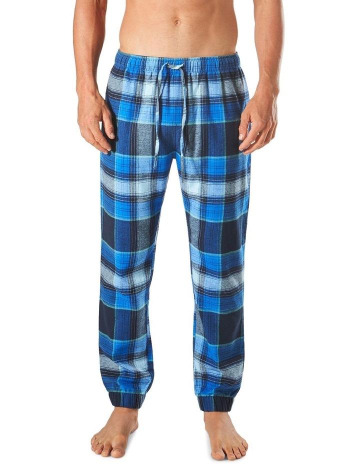 Southern Check Slim Leg Flannel Sleep Pant image 1