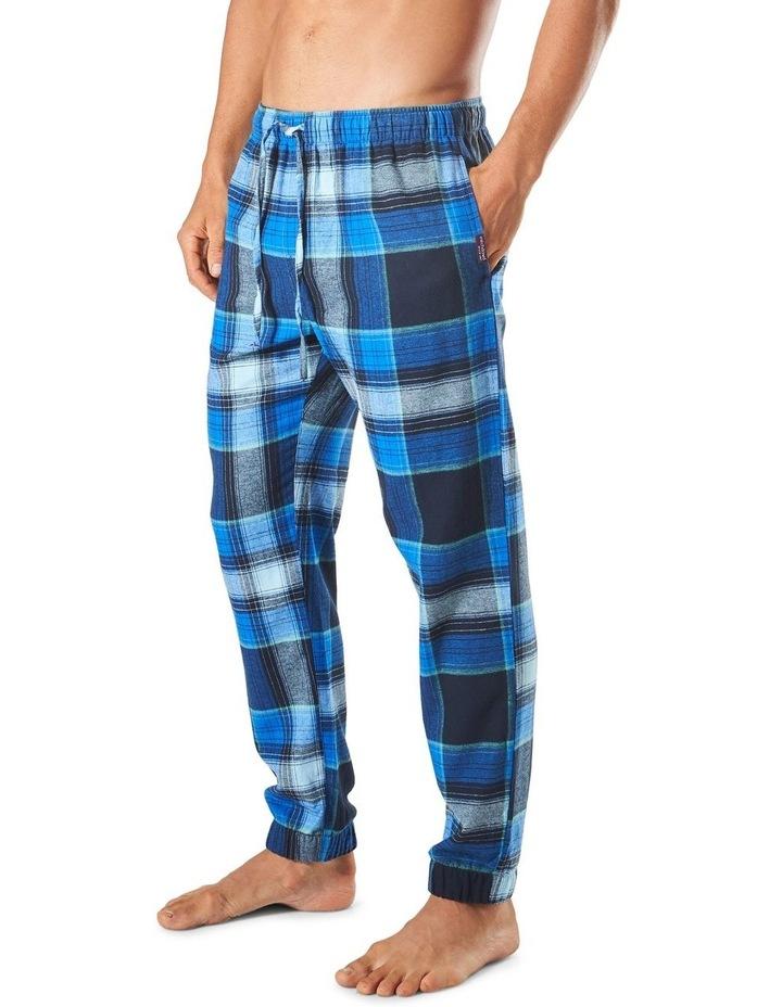 Southern Check Slim Leg Flannel Sleep Pant image 2